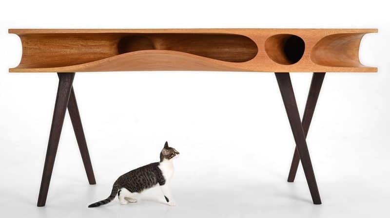 CATable - tavolo di design pensato per il gatto