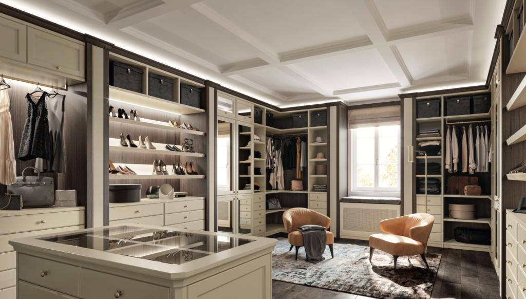 progettazione negozio abbigliamento carredamento ecologico: mobili, pavimentazione e infissi in legno certificato; tappeto in tessuto biologico