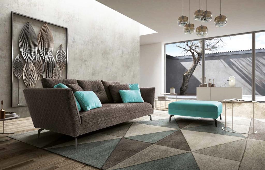 arredamento ecosostenibile-divano in cotone ecologico