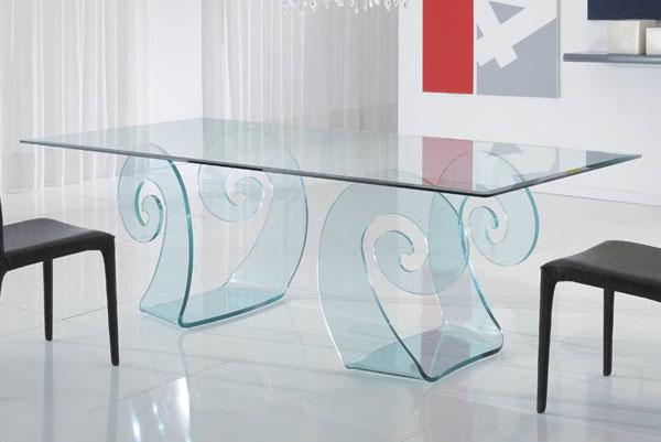 aramis-tavolo-da-pranzo-vetro-la-vetreria | Seven Project Studio