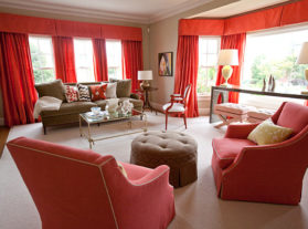 Living coral: Arredamento color corallo