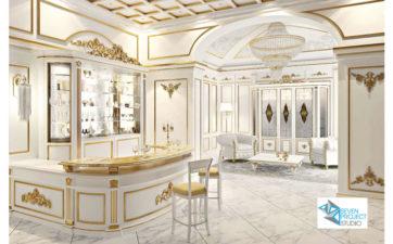 progetto albergo di lusso