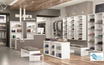 Interior Contractor: proposte progettazione negozio di abbigliamento