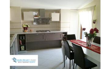 ristrutturazione cucina casa Angri_seven project studio