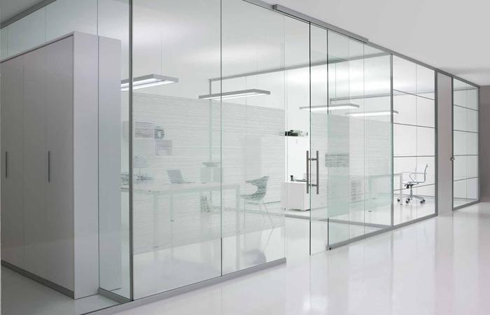 seven project studio contract ufficio con pareti divisorie