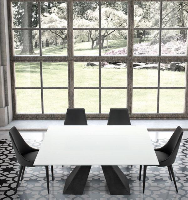 Tavoli moderni classici allungabili scegli il tavolo for La forma tavoli